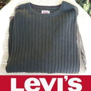Size L Men's levi's Strauss green sweater